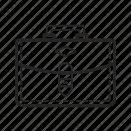 bag, briefcase, business, case, finance, portfolio, suitcase icon