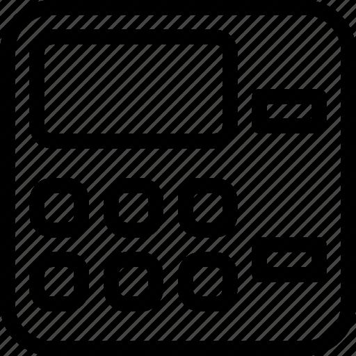 atm, bank, business, cash, line-icon, machine icon