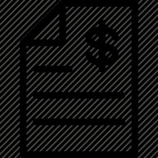 business, contract, estimate, legal, line-icon icon
