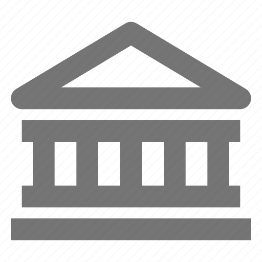 bank, building, business, currency, estate, money, payment icon