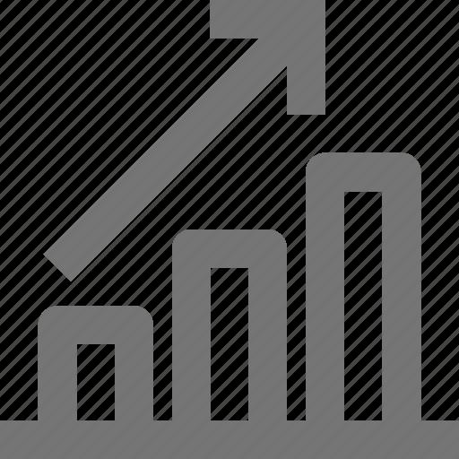 bar, graph, increase icon