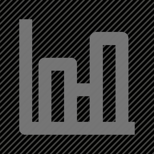 bar graph, graph icon