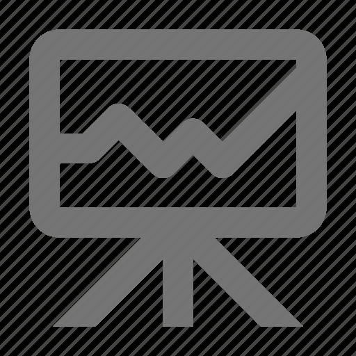 analytics, bar, board, chart, data, graph, statistics, whiteboard icon