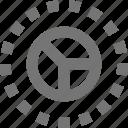 analytics, bar, chart, data, graph, pie, report, statistics icon