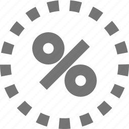 discount, offer, percent, percentage, price, rate, sale icon