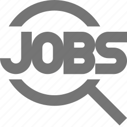 employment, find, jobs, search, view icon