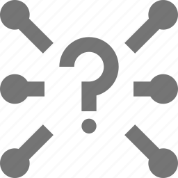 help, network, question icon