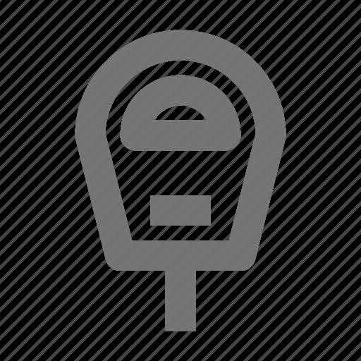 parking, parking meter icon