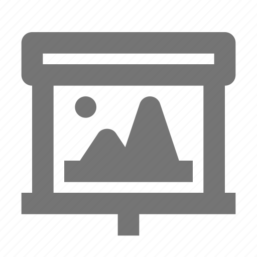 Image, projector, screen, photo, media, picture, presentation icon - Download on Iconfinder