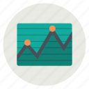 chart, graph, report, statistics icon
