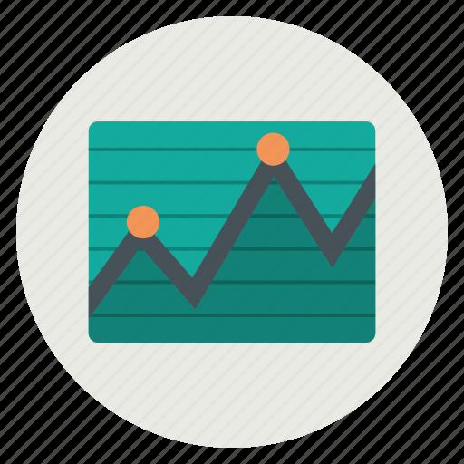 chart, graph, report, statistics icon