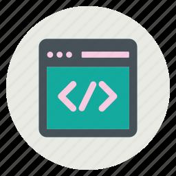 business, code, design, development, web icon