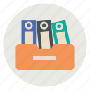 document, documents, file, folder icon