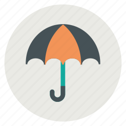 insurance, protection, rain, weather icon