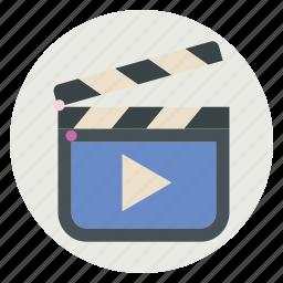 action, film, movie, multimedia icon