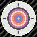 arrow, bullseye, strategy, target