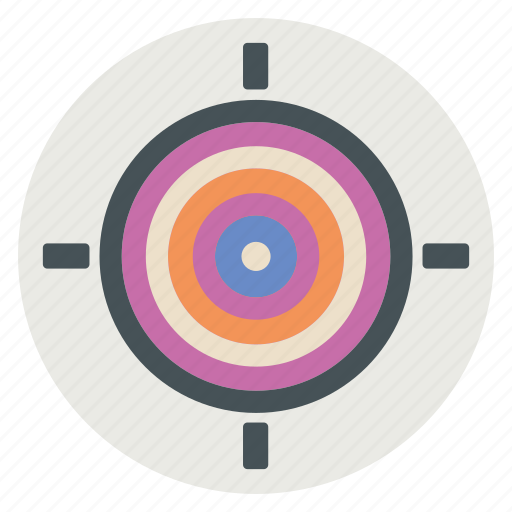 Arrow, bullseye, strategy, target icon - Download on Iconfinder