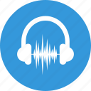 audio, audio marketing, headphones, multimedia, music, sound, volume icon