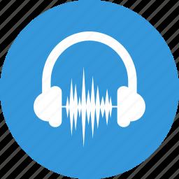 audio, audio marketing, headphones, multimedia, music, sound, volume icon
