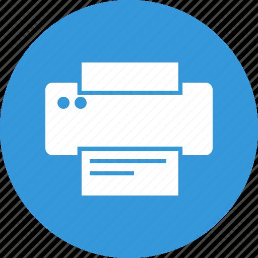 copyrighting, hardware, printer, printing icon