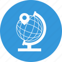 earth, global, globe, local, location, marker, pointer icon