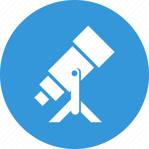 astronomy, macro research, research, science, spyglass, telescope, tube icon
