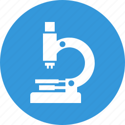 biology, laboratory, micro, micro research, microscope, research, science icon