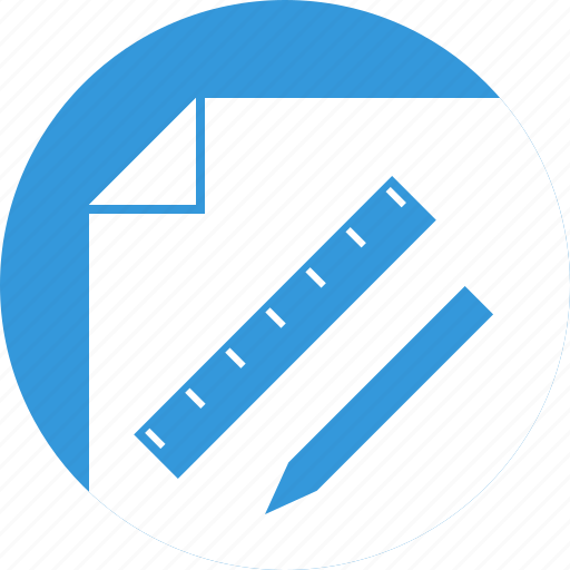 business plan, measure, plan, planning, project, ruler icon