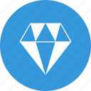 clean code, coding, diamond, gem, precious, premium, premium services icon