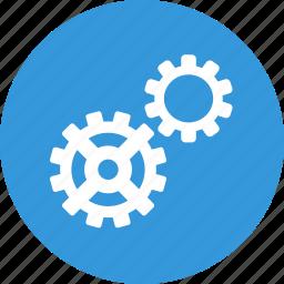 cog, cogwheel, gear, repair, services, setting, system icon