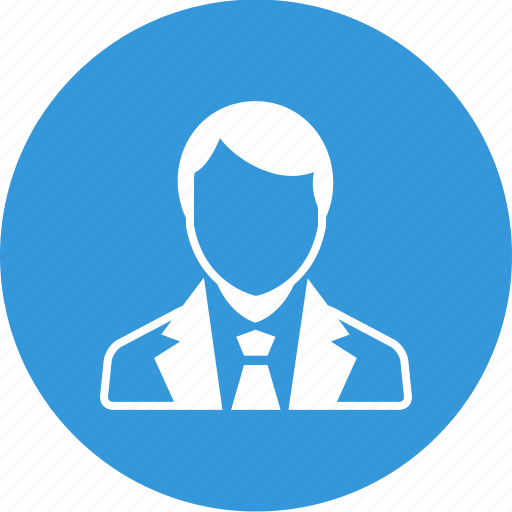account, avatar, business, man, profile, staff, user icon