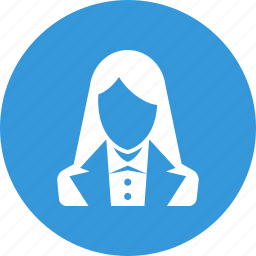 avatar, business, person, profile, staff, user, woman icon