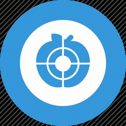 aim, goal, shooting, target, targeting icon