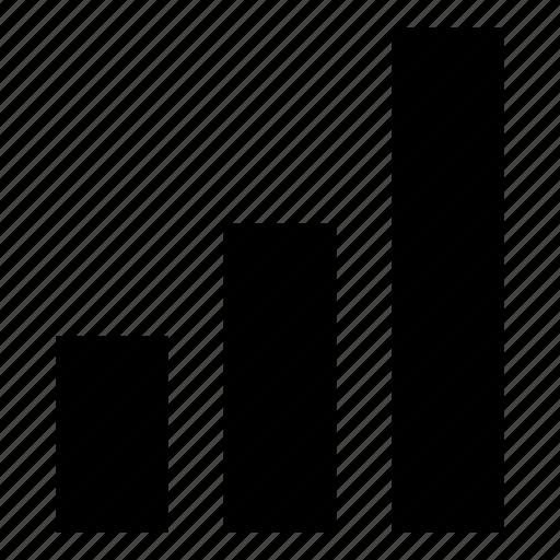 bar, bar chart, graph, rate, rating, statistics icon