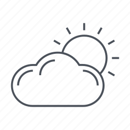 cloud, meterology, temprature, thermometer, weather casting, wheather icon