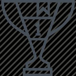achieve, achievement, award, champion, competition, cup icon
