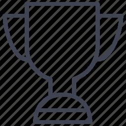 achievement, award, business, prize, reward, trophy icon