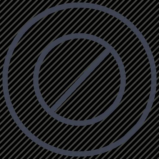 block, blocks, business, cancel, remove, stop icon
