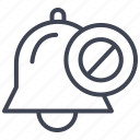 business, disable, disabled, notification, notifications icon