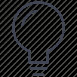 bulb, business, idea, lamp, light, lightbulb icon