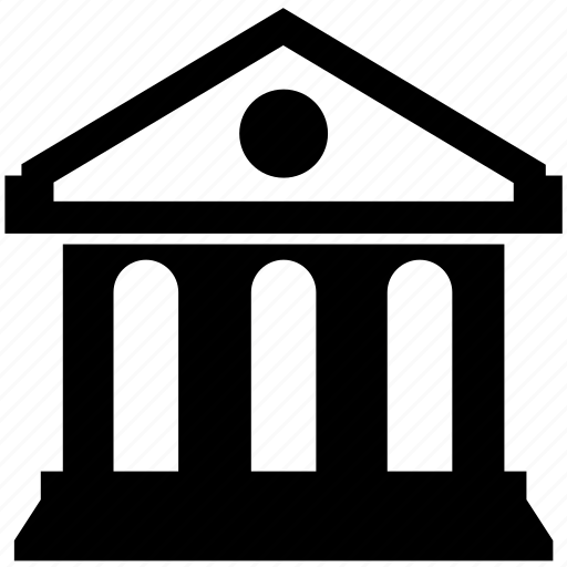 architecture, bank, banking, building, economy, finance, institute icon