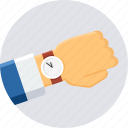 schedule, time, timer, wait, watch, wrist watch icon