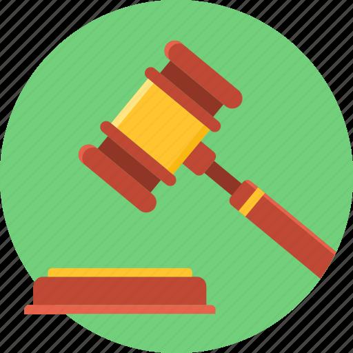 auction, bid, court, judge, justice, law, legal icon