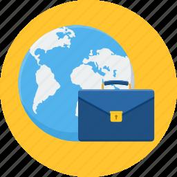 bag, briefcase, business, international, portfolio icon