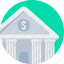 bank, financial institution, stock, treasury icon