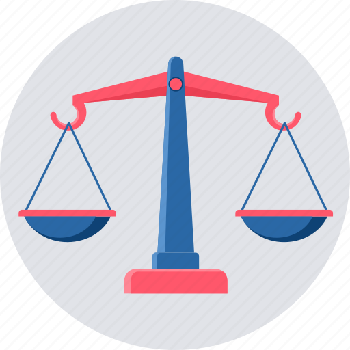 balance, equality, measure, scale, scales, weight icon