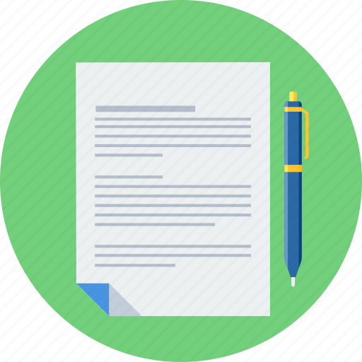 agreement, contract, document, documents, page, paper icon