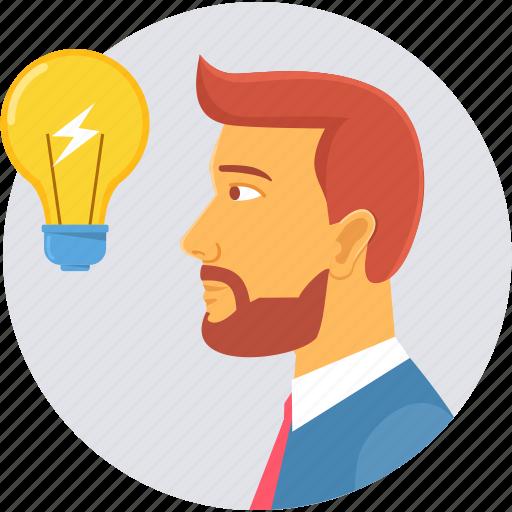 creative, idea, innovation, lightbulb icon