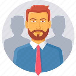 businessman, employee, man, manager, office, people, person icon