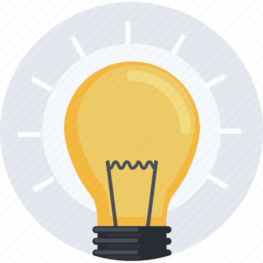 business, creative, flat design, idea, innovation, light bulb, marketing icon